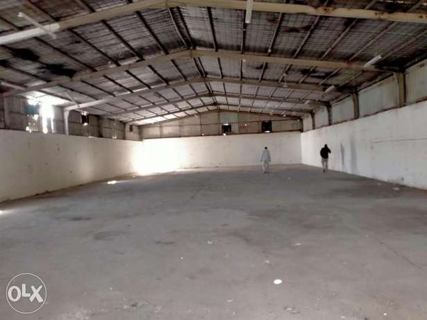 Work shop for rent in industrial area