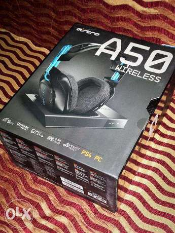 ASTRO A50 2017 wireless pro Gaming Headset, Headphone for PS4 PC Bamburi - image 1