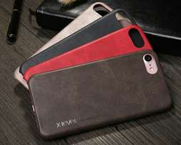 Luxury vintage leather cover case for iphones