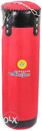 Punching Bags Top Grade Nylon Material, 100 Cm, Red
