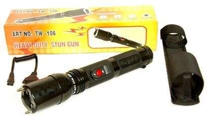 Flashlight Tazer - 106 BRAND NEW 2.5MIL VOLT Sunridge Park - image 4