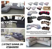 Brand new couches and corner units
