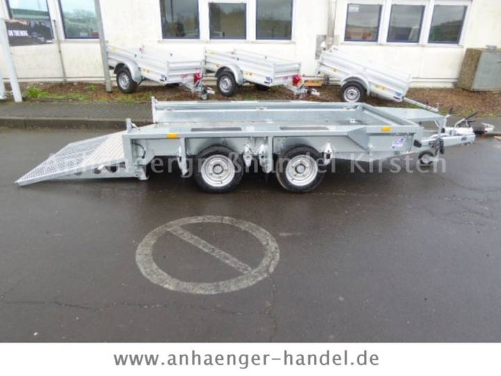 Ifor Williams GX 105HD Rampe +Zurrösen 3,5t VORRAT