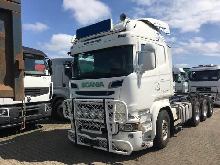 Scania R580 8x4*4 - 2014