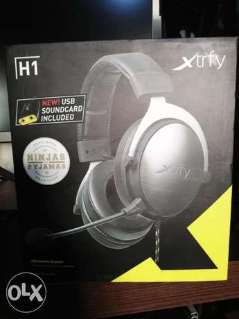 Xtrfy h1 pro gaming +sound card 7.1