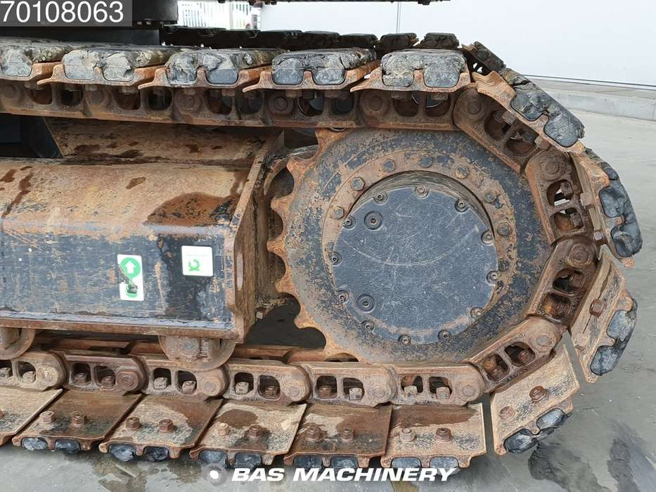 Caterpillar 308E 3 buckets - German dealer machine - 2012 - image 7