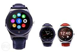 Fashion high-end business round full compatible smart watch