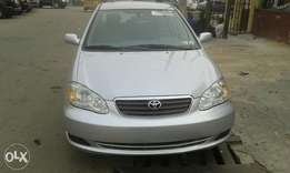 very sharp toks 07 corolla lag cleared for N2.1m