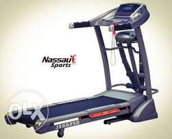 Treadmill with Massager, Twister & Incline