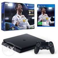 Ps4 + fifa 18 at the price countrywide.