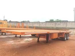 brand new flat body trailer