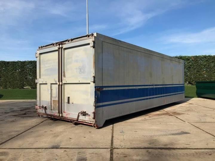 Aluminium 35m3 Afzetcontainer