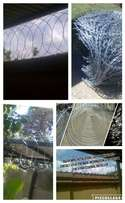 Spike Fencing / Razor wire supply and fitted / at low costs..