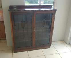 Lead light/ leadglass Display Cabinet
