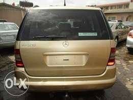 Mercedes Benz ML 2002 Model