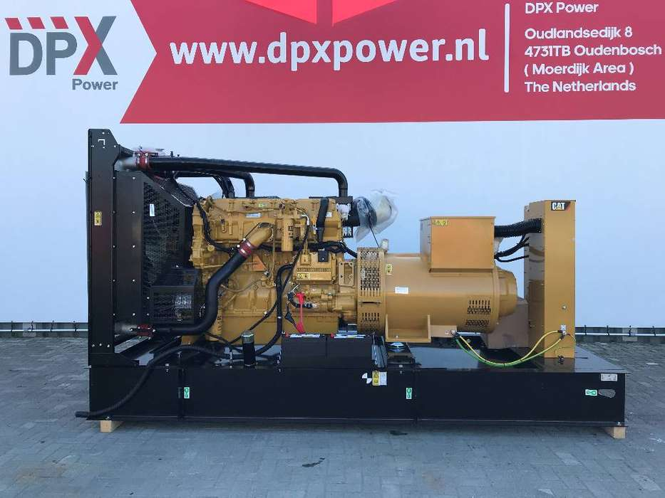 Caterpillar C18 - 715 kVA Open Generator set - DPX-18030-O - 2019
