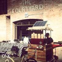 Mobile Coffee business equipment and stock for sale