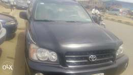 Toyota Highlander for sell at affordable price tag