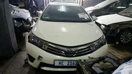 Toyota Corolla 2016 Parts