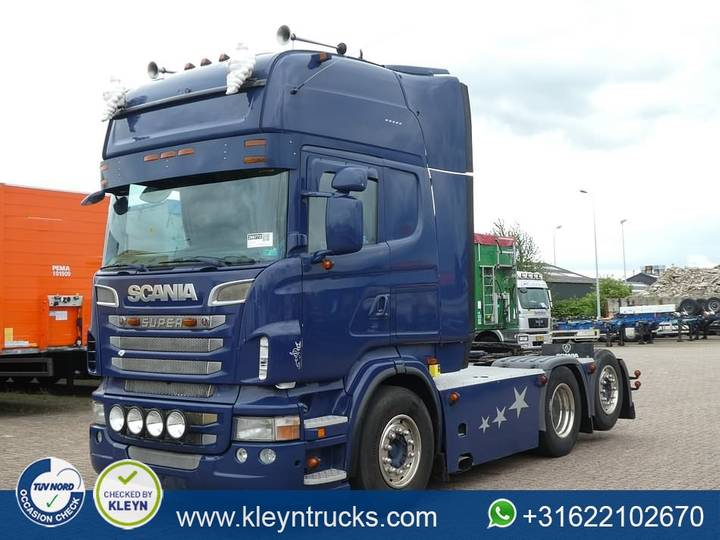 Scania R500 tl 6x2 manual v8 - 2011