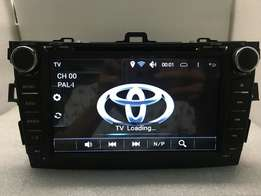 Toyota corolla Android 6.0 DVD touch player
