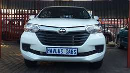2016 Toyota Avanza 1.5 SX Available for Sale