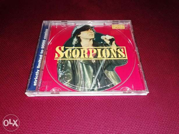Scorpions - Shaped CD - Limited Edition