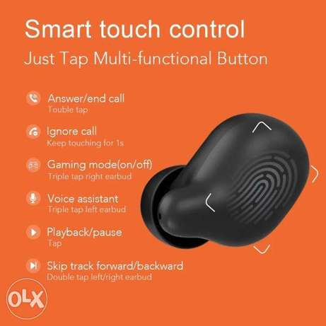 Haylou T15 Touch Control True Wireless Earhones Battery Level Display Riyadh - image 6