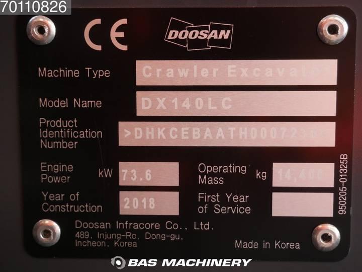Doosan DX 140 LC New unused 2019 - CE - 2018 - image 20