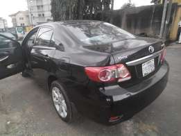 fairly used 2011 toyota corolla ,LE,thumpstart,factry leathr seat,revc