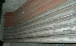 Fencing post mold.