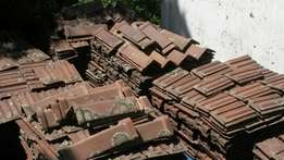 Marseilles roof tiles and ridging, plus minus 4000 available