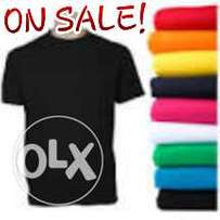 T-SHIRTS (Plain Tshirts)