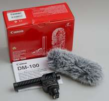 Canon DM-100 Directional Stereo Microphone(buy 2 at an offer)