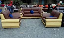 Five seater leather made on sale