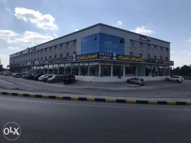showrooms&stores at prime location Mabelah - Al Seeb St service road