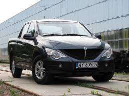Ssangyong Actyon 2.0 XDI D/Cab 2009 Manaul