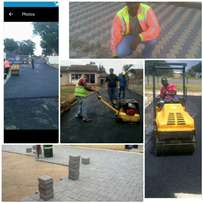 Convenience tar and paving projects