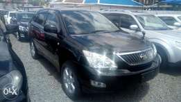 Toyota Harrier 2011 with rare camera