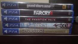 PlayStation 4 (PS4) Games for sale (separately or all together)