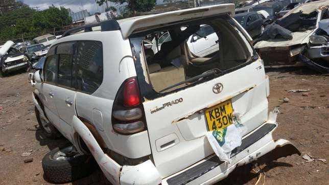 Toyota Prado ,KBm with damaged right side Industrial Area - image 2
