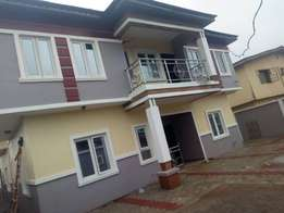 Lovely newly built 2 bedroom flat all tiles floor pop ceiling at Amule