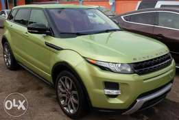Clean Range Rover evoque 2007