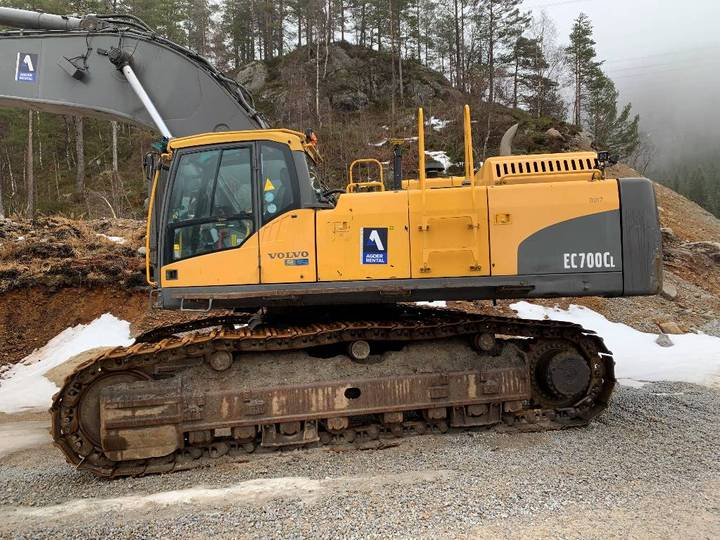 Volvo Ec 700 C L Salg / Utleie - 2009
