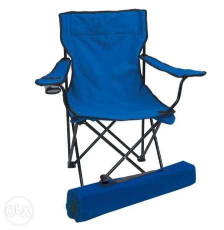 Big Camping chair blue color 110KG delivery LB