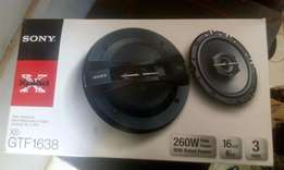 Sony 6inch speakers, new in shop, free delivery.