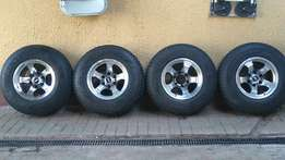 Bakkie mags + tyre's for sale or to swop