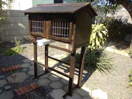 Egg laying chicken house.