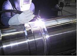 Boilermaking training co2 arc argon aluminium flux-core welding