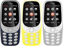 Brand New Sealed Nokia 3310 at 5500 with 1yr warranty